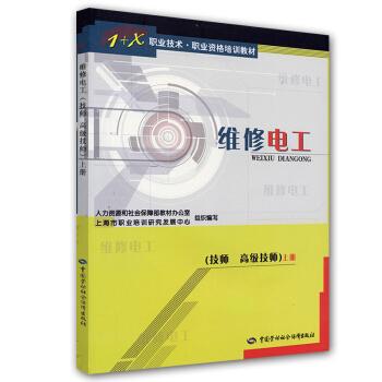 1+X职业技术职业资格培训教材:维修电工(技师 高级技师)(上) pdf epub mobi 下载