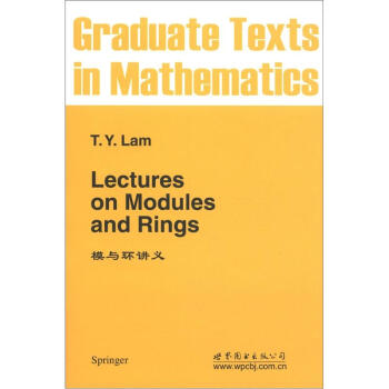模与环讲义 [Lectures on Modules and Rings] pdf epub mobi 下载