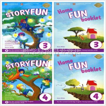 剑桥少儿英语YLE考试教材StoryFun for Movers(3+4)学生套装 学生用书 套装 下载 mobi epub pdf txt
